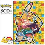 Pokémon Series 2 Pikachu 500 Piece Jigsaw Puzzle Box