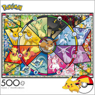 Pokémon Series 1 Eevee 500 Piece Jigsaw Puzzle Box