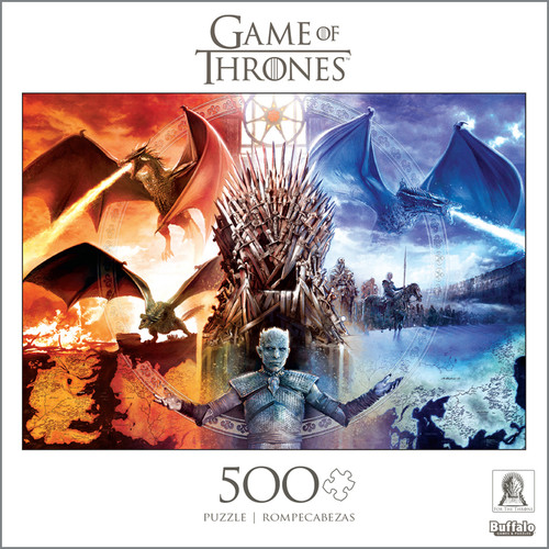 Game of Thrones Fire and Ice 500 Piece Jigsaw Puzzle Box