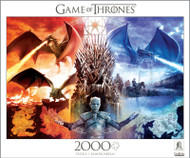 Game of Thrones Fire and Ice 2000 Piece Jigsaw Puzzle Box