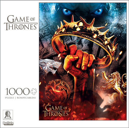 """Game of Thrones """"There Is Only One War That Matters, And It Is Here"""" 1000 Piece Jigsaw Puzzle Box"""