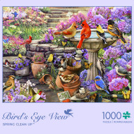 Bird's Eye View Spring Clean Up 1000 Piece Jigsaw Puzzle Box