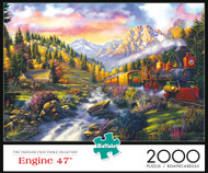 Engine 47 2000 Piece Jigsaw Puzzle Box