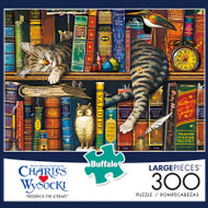 Charles Wysocki Frederick The Literate 300 Large Piece Jigsaw Puzzle Box