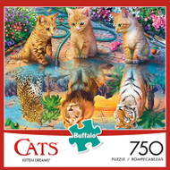 Cats Kitten Dreams 750 Piece Jigsaw Puzzle Box