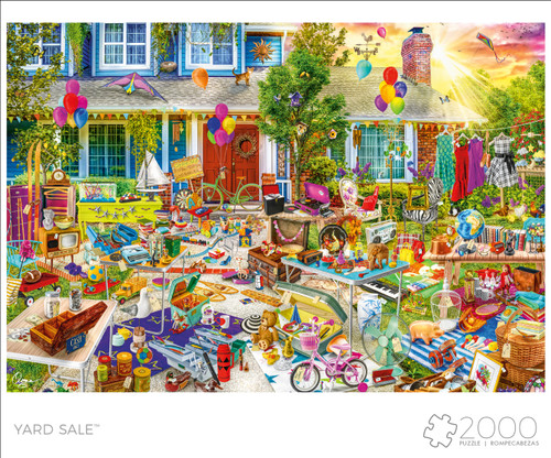 Art of Play Yard Sale 2000 Puzzle Box