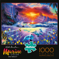 Marine Color Shelf Break II 1000 Piece Jigsaw Puzzle Box
