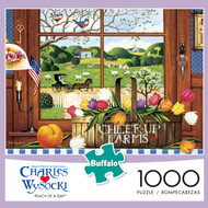 Charles Wysocki: Peach of a Day 1000 Piece Box