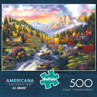 Americana Collection: All Aboard! 500 Piece Box