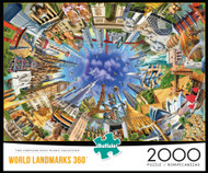 World Landmarks 360 2000 Piece Box
