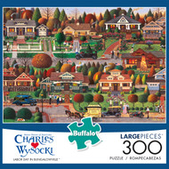 Charles Wysocki Labor Day in Bungalowville 300 Piece Box