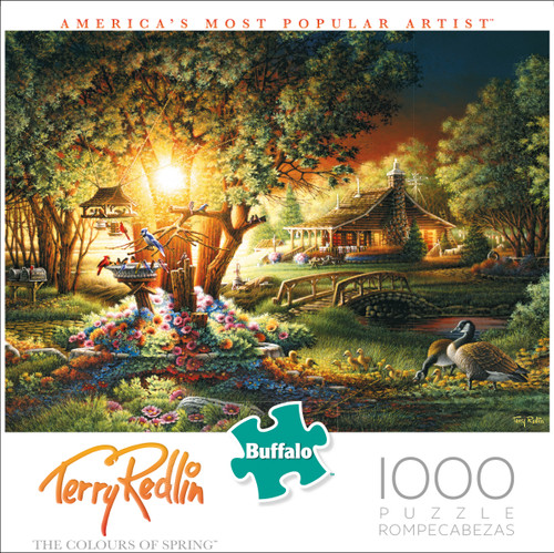 Terry Redlin Colours of Spring 1000 Piece Box