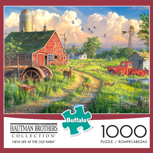 Hautman New Life at the Old Farm 1000 Piece Box