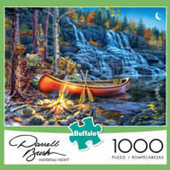 Darrell Bush Waterfall Night 1000 Piece Box