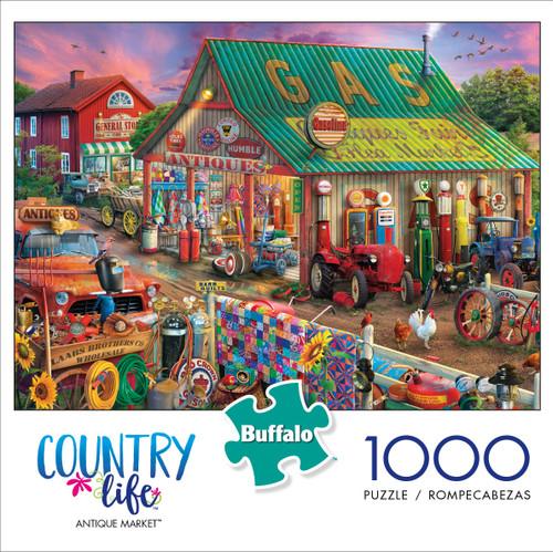 Country Life Antique Market 1000 Piece Box