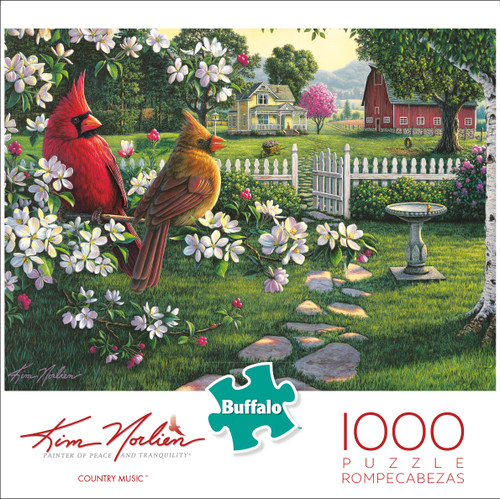 Kim Norlien Country Music 1000 Piece Box
