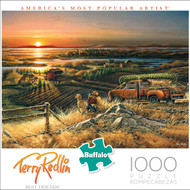 Terry Redlin Best Friends 1000 Piece Box