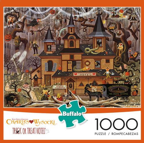 Charles Wysocki Trick or Treat Hotel 1000 Box
