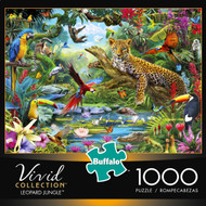 Vivid Leopard Jungle 1000 Piece Box