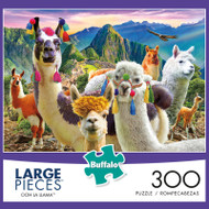 Ooh La Llama 300 Large Piece Jigsaw Puzzle Box