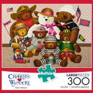 Charles Wysocki Teddy Friends 300 Piece Jigsaw Puzzle Box