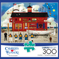 Charles Wysocki The Sea Buglers 300 Piece Jigsaw Puzzle Box