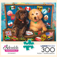 Adorable Animals Stowaways 300 Large Piece Jigsaw Puzzle Box