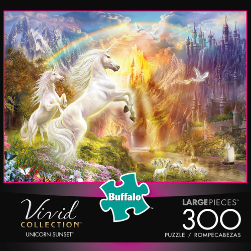 Vivid Unicorn Sunset 300 Piece Box