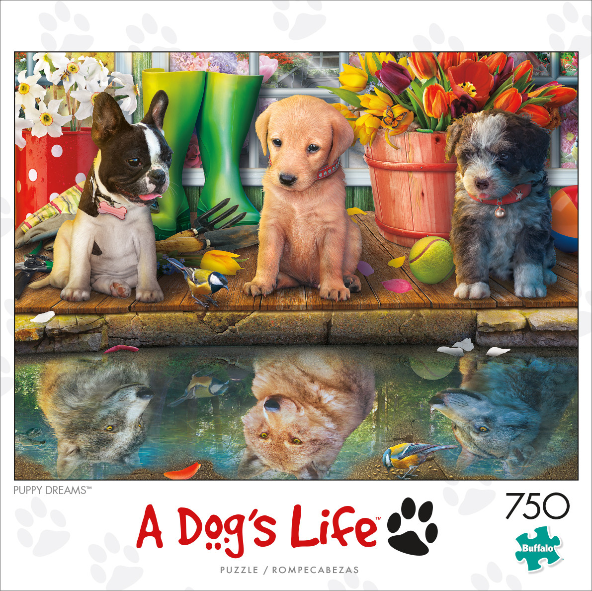 A Dogs Life Puppy Dreams 750 Piece Jigsaw Puzzle
