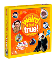 Weird But True The Game Box