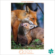Earthpix Better Together 500 Piece Jigsaw Puzzle Box