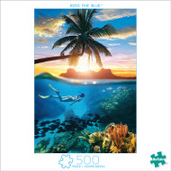Earthpix Into The Blue 500 Piece Jigsaw Puzzle Box
