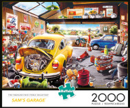 Sam's Garage 2000 Piece Jigsaw Puzzle Box
