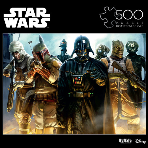 "Star Wars™ ""He's All Yours, Bounty Hunter"" 500 Piece Jigsaw Puzzle Box"