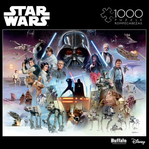 "Star Wars™ ""The Force is With You, Young Skywalker"" 1000 Piece Jigsaw Puzzle Box"