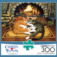 Charles Wysocki All Burned Out 300 Piece Jigsaw Puzzle Box
