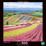 Photography Rainbow Fields 300 Piece Jigsaw Puzzle Box