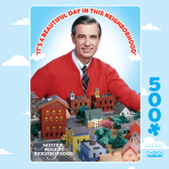 Mister Rogers' Neighborhood 500 Piece Jigsaw Puzzle Box