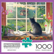 Hautman Brothers Birdwatching 1000 Piece Jigsaw Puzzle Box