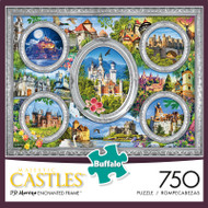 Majestic Castles: Enchanted Frame 750 Piece Jigsaw Puzzle Box