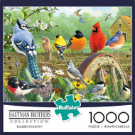 Hautman Brothers Railbird Reunion 1000 Piece Jigsaw Puzzle Box
