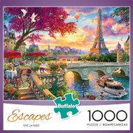 Escapes by Chuck Pinson Vive La Paris 1000 Piece Jigsaw Puzzle Box