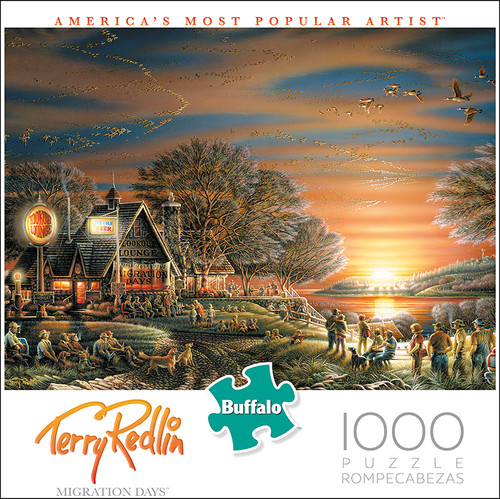 Terry Redlin Migration Days 1000 Piece Jigsaw Puzzle Box