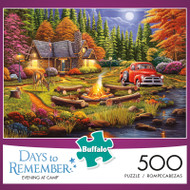 Days to Remember Evening At Camp 500 Piece Jigsaw Puzzle Box