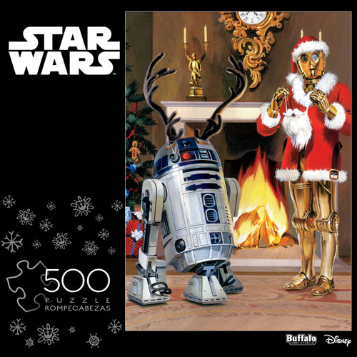 "Star Wars™ ""All I Want For Christmas Is R2"" 300 Large Piece Jigsaw Puzzle Front"