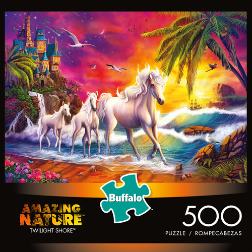 Amazing Nature Twilight Shore 500 Piece Jigsaw Puzzle Box