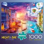 Night & Day Venice, City On Water 1000 Piece Jigsaw Puzzle Box