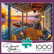 Darrell Bush Opening Day 1000 Piece Jigsaw Puzzle Box