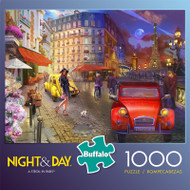 Night & Day A Stroll in Paris 1000 Piece Jigsaw Puzzle Box
