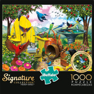 Signature Collection Hidden Birds 1000 Piece Jigsaw Puzzle Box